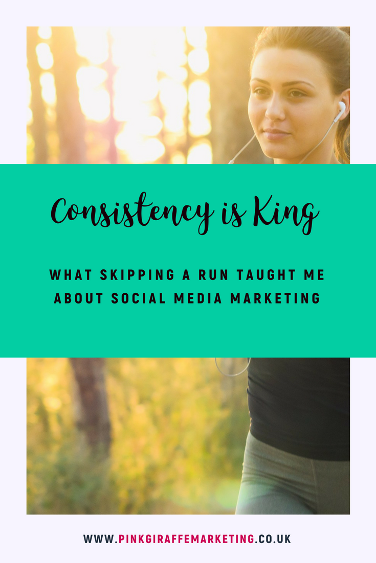 Consistency is king for social media posting