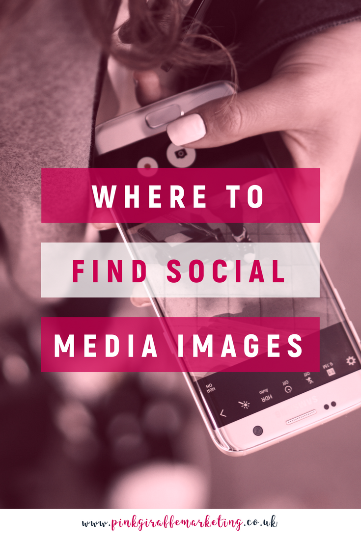 Where to find social media images