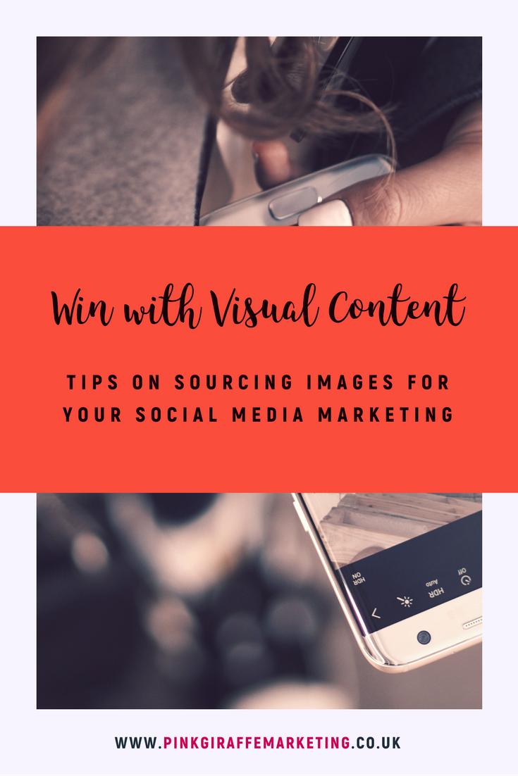Tips for sourcing images for social media marketing
