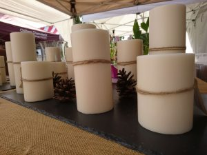 Autumn Content Ideas - Pillar Candles from Sunningdale Candle Company
