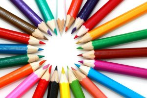 Autumn Content Ideas - Coloured Pencils