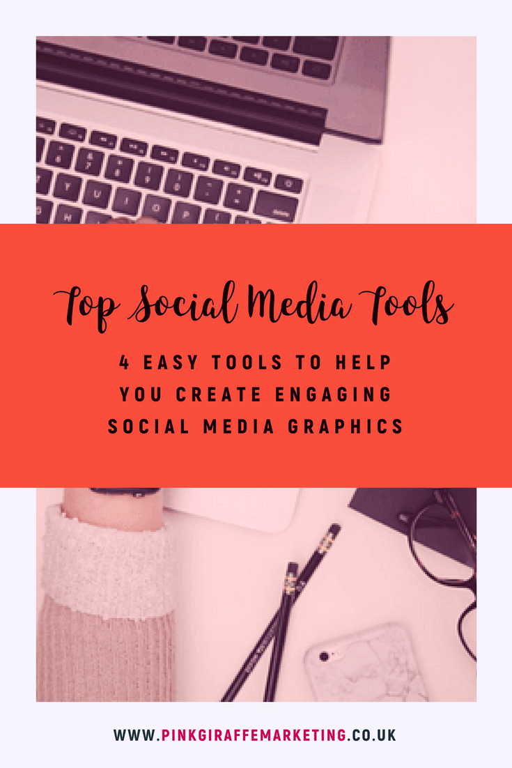 Tools for creating social media graphics