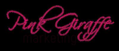 Pink Giraffe Marketing Logo