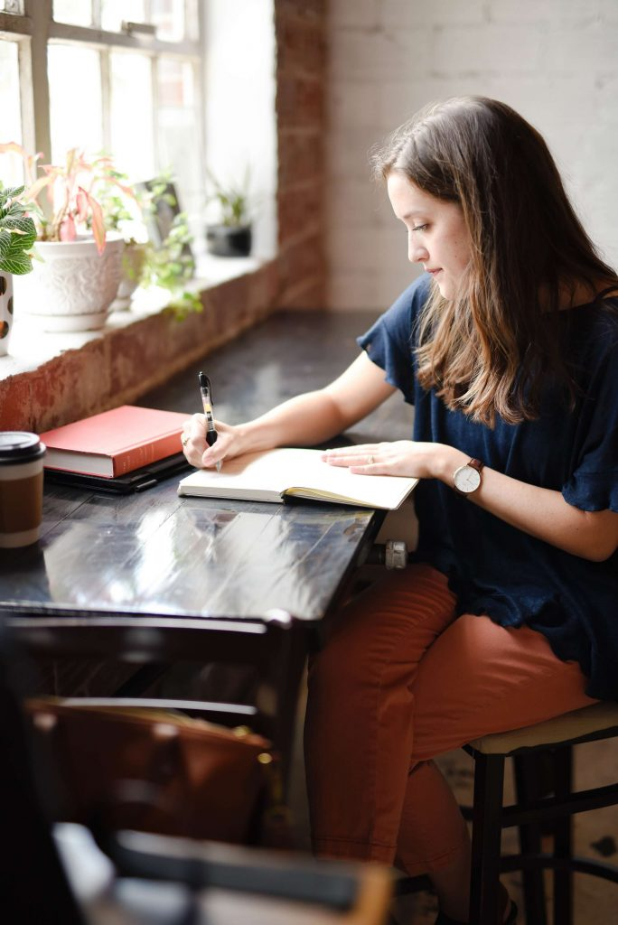 Writing down tasks helps simplify your marketing