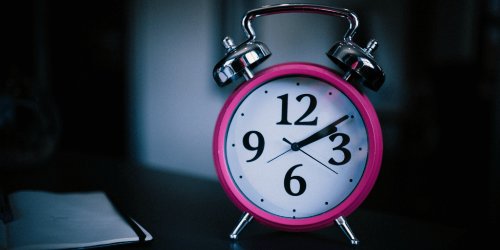 not enough time alarm clock